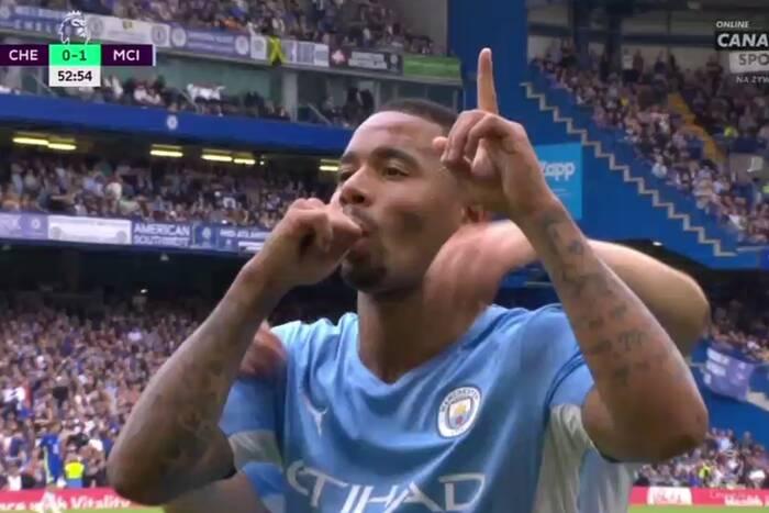 Manchester City lepszy od Chelsea w hicie Premier League! Gabriel Jesus bohaterem na Stamford Bridge [WIDEO]