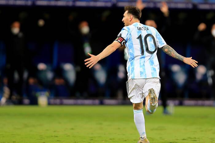 Argentyna rozbiła Urugwaj! Leo Messi osiągnął kolejną granicę [WIDEO]