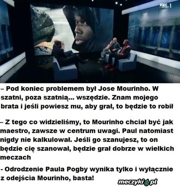 Brat Pogby o Mourinho