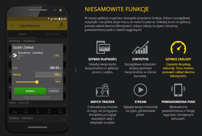 Fortuna - aplikacja mobilna
