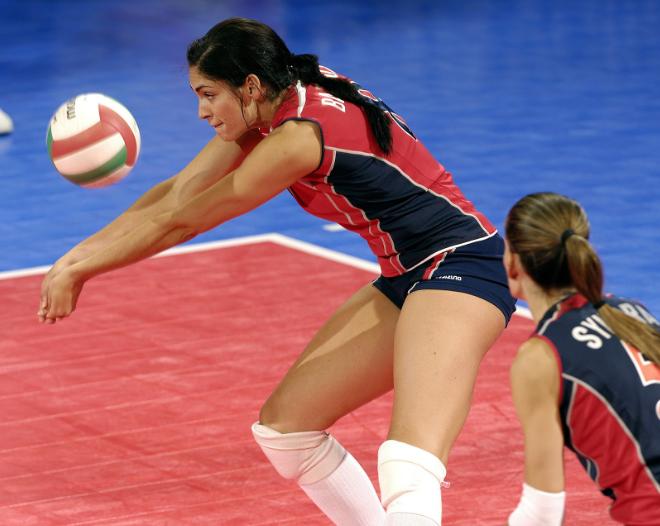 Siatkówka - mecz kobiet