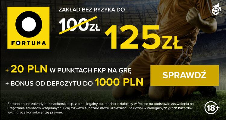 Bukmacher Fortuna esport - bonusy i promocje