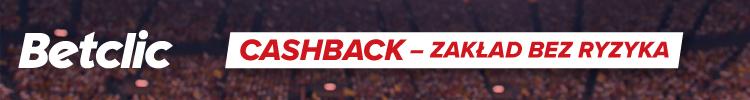 Betclic - bonus cashback - zakład bez ryzyka - esport