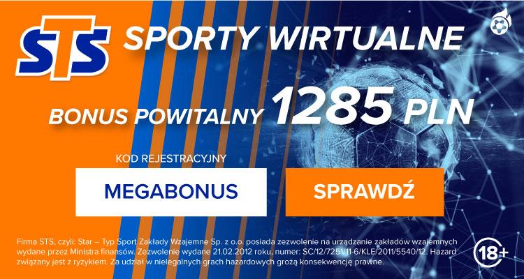 STS - Sporty wirtualne - bonusy i promocje