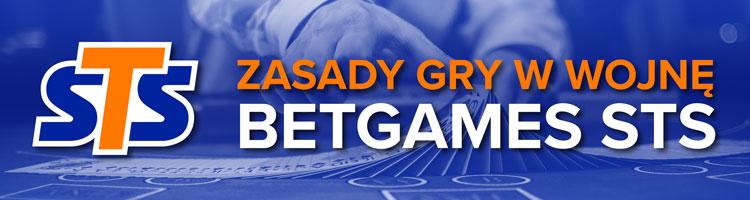 STS Betgames - wojna online - zasady gry
