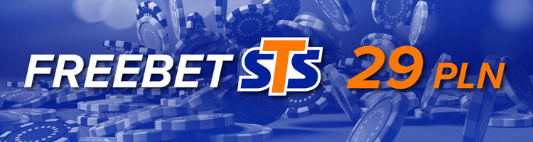 STS BetGames - promocja freebet 29 PLN