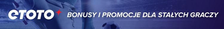 Etoto - bonusy i promocje dla stałych graczy