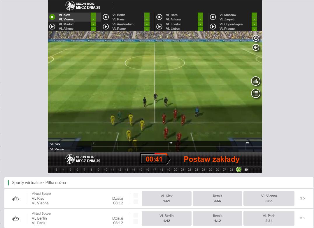 Sporty wirtualne w PZBuk - piłka nożna