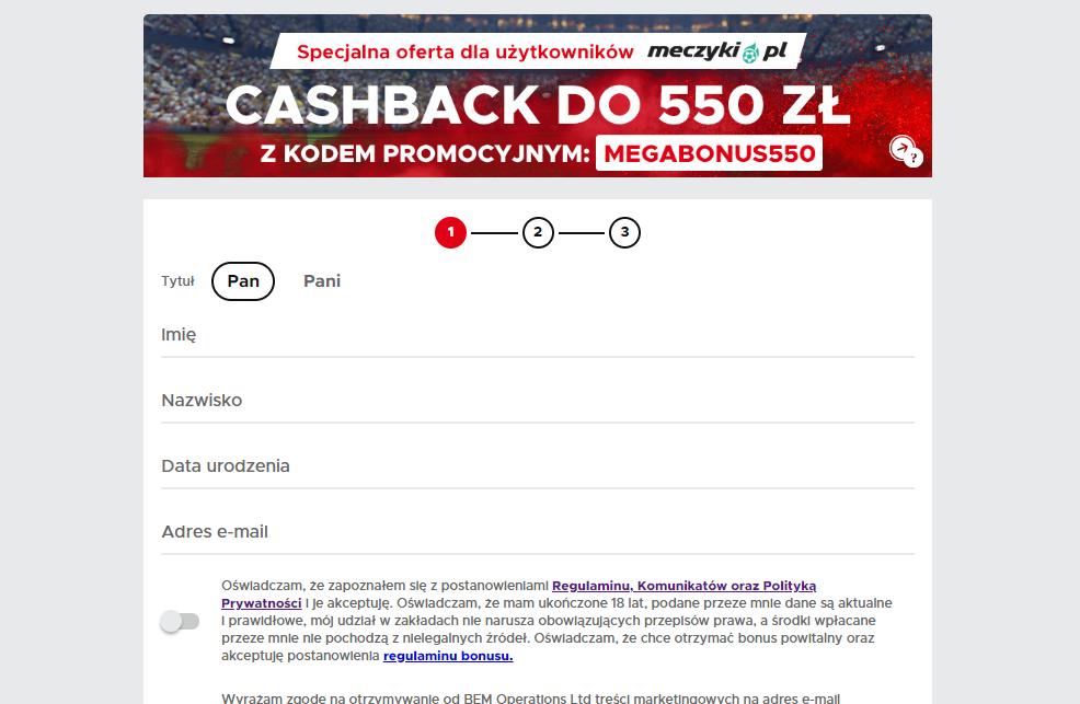 Betclic esport - oferta bonusowa - promocje na esport cashback