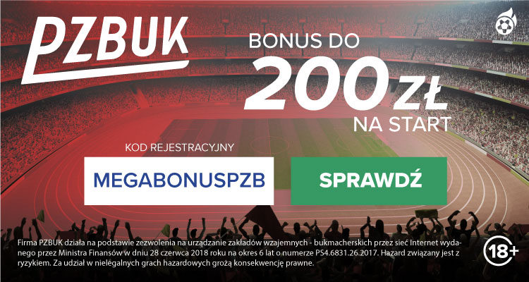 Bukmacher PZBuk - bonusy i promocje