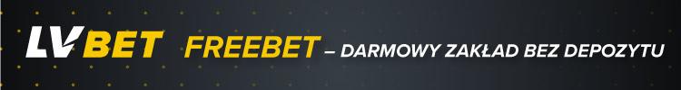 LVBet - bonus freebet - darmowy zakład - Bonus LVBet