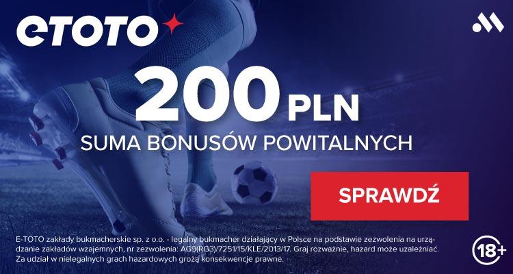 Euro 2020 (2021) - bonusy i promocje ETOTO