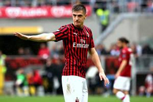 Krzysztof Piątek znów bez gola. AC Milan z trzecioligowcem grał... jak równy z równym