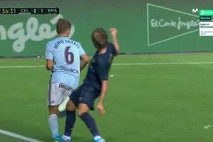 Kontrowersja w meczu Realu Madryt. Czy Luka Modrić słusznie obejrzał czerwoną kartkę? [WIDEO]