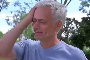 Jose Mourinho ze łzami w oczach: Tęsknię za piłką, za tą adrenaliną, za boiskiem, za pracą [WIDEO]